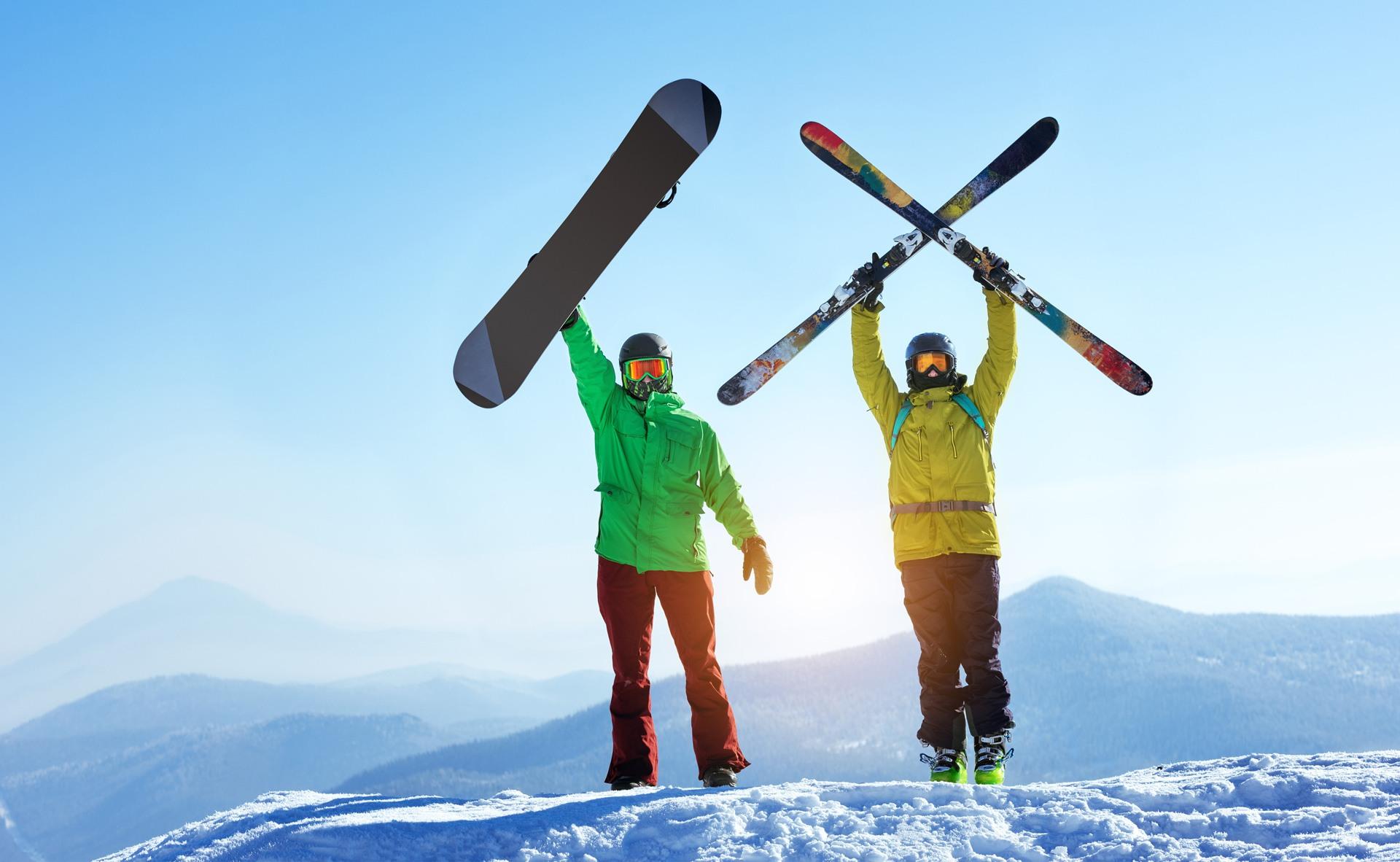 6 redenen waarom skiën leidt tot een betere gezondheid