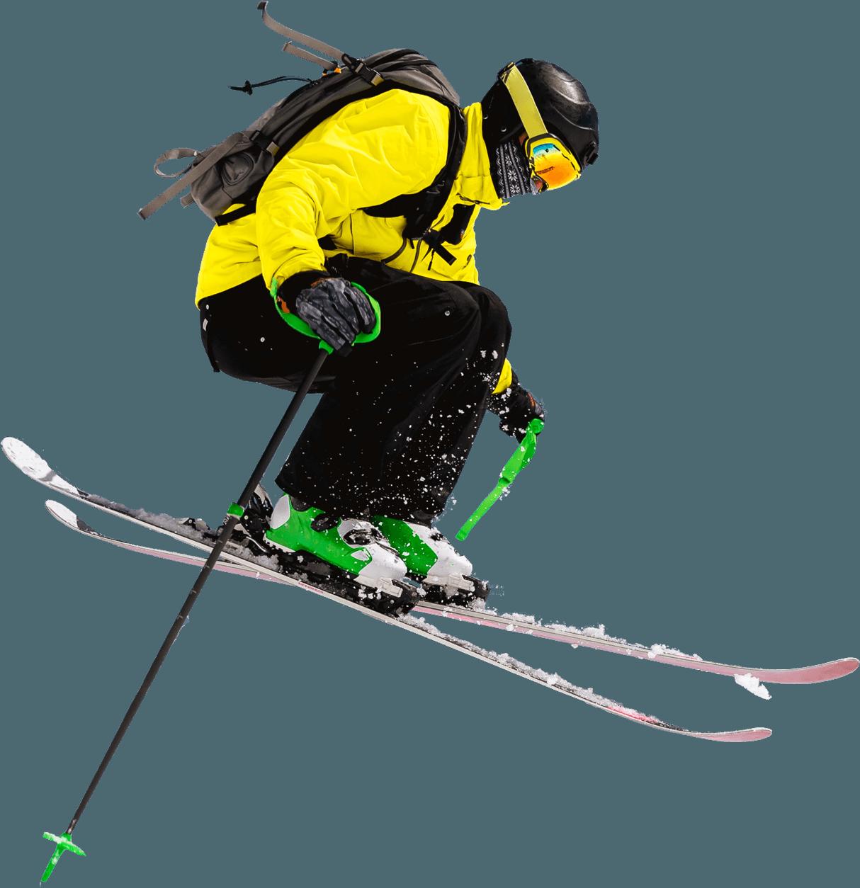 Skiier-Vrijstaand