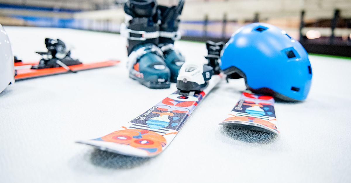 Ski en snowboard onderhoud