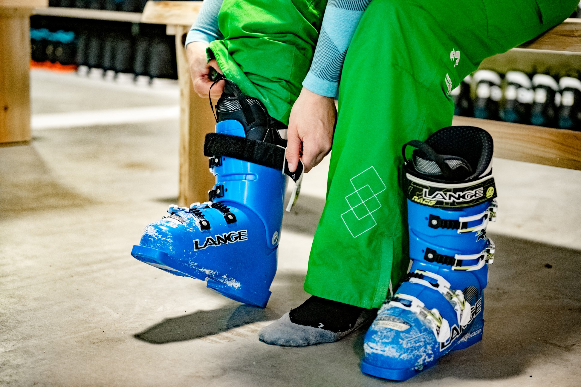 Leren skiën op latere leeftijd